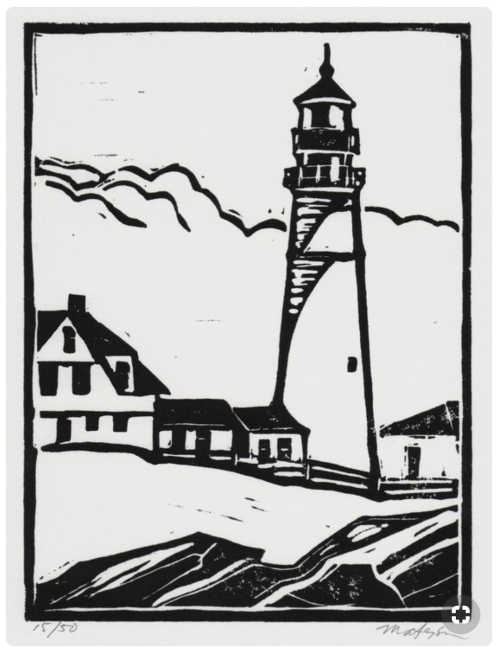 10 lighthouse @ myMaineart.png