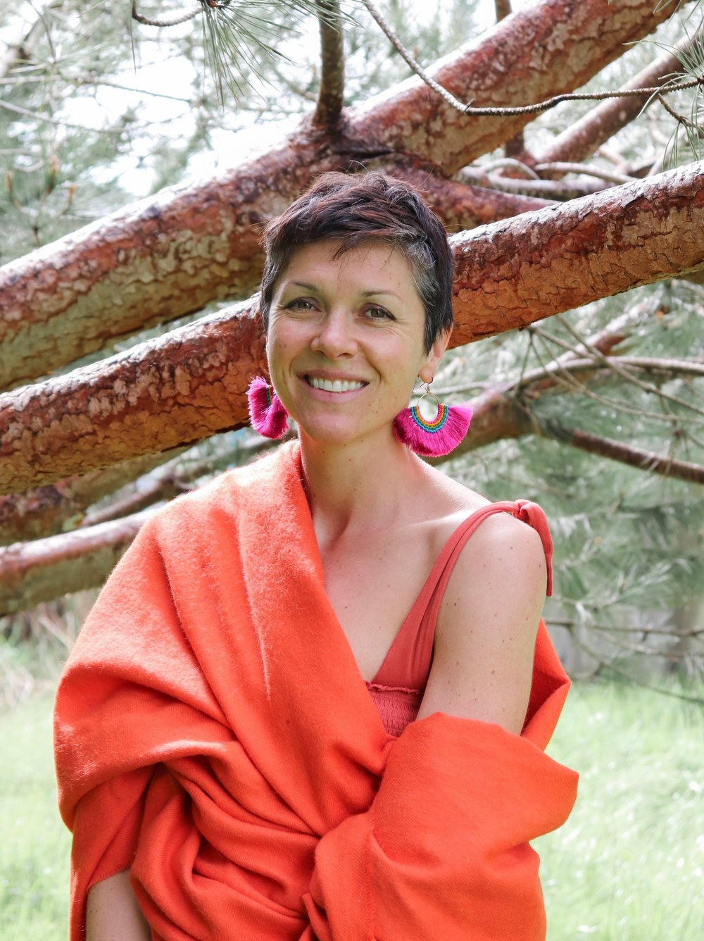 Jamie Aron - Jamie is a Santa Cruz native who enjoys all things birth-related. She believes in the transformative power of crafting one's reality through positive thinking. What better way to set intentions than through the art making process? With a background in teaching art to 'non-artists', Jamie sees the art making process as one of the highest forms of self-discovery. She is constantly inspired by the two little humans that she brought into the world, and she considers our children to be our greatest teachers. When she is not riding her bike around town with her son and her daughter or making large messes in the kitchen with these aspiring inventors/creators, Jamie helps others birth new ideas and new beginnings within her Reiki practice. She is an energy worker at Marigold's Love, her private practice dedicated to supporting clients unblock stagnant energy within their bodies, minds and souls in order to increase awareness of their authentic self and find their divine purpose in life.Website: marigoldslove.comIG: @marigoldslove