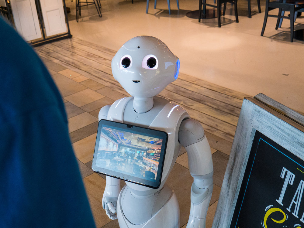 Pepper is a great salesperson - With a proven track record, Pepper can increase your sales and lower your costs. From bringing more customers into a location, to helping educate them about your amazing services, Pepper can help bring your business to the next level.