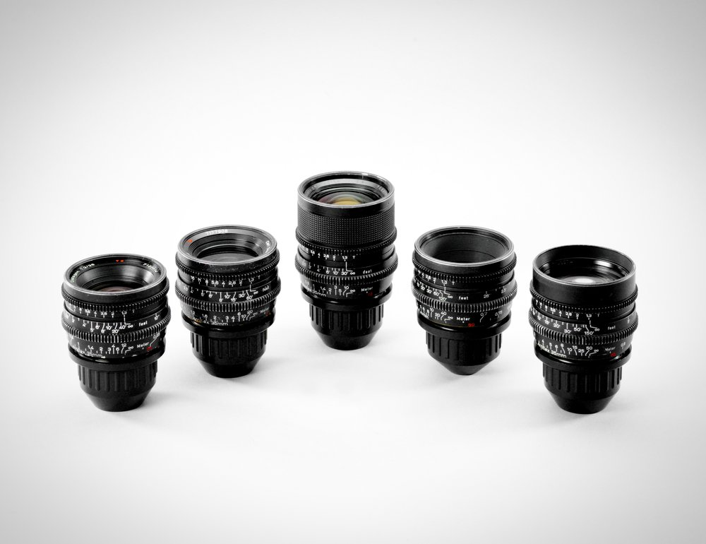 Vintage Zeiss Super Speed Primes