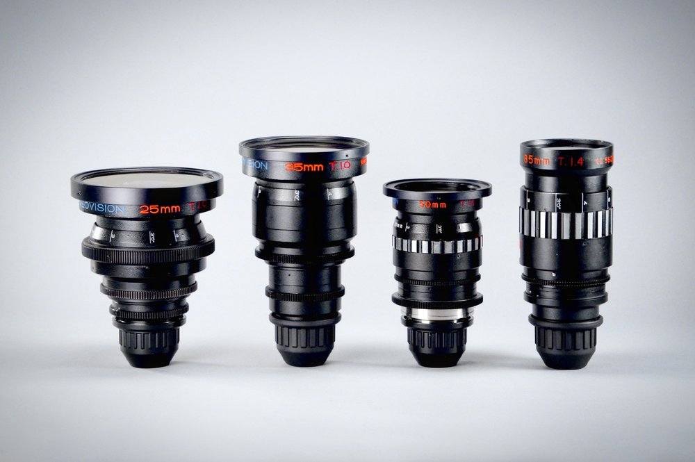 Vintage Cineovision High-Speed Anamorphic Primes