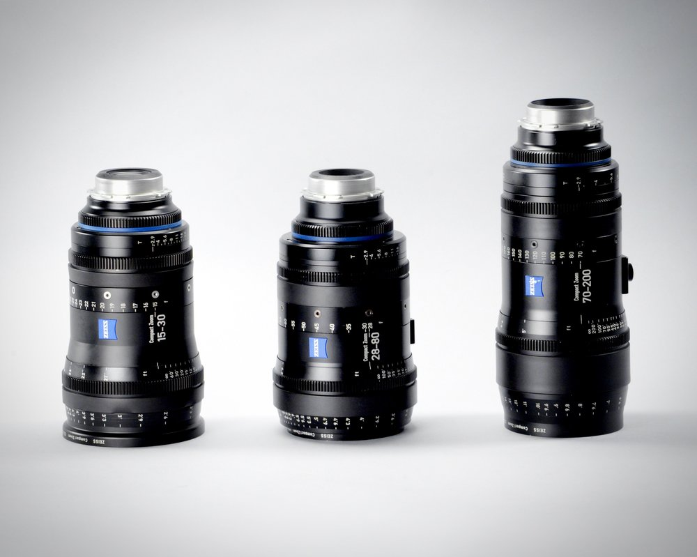 Zeiss Full Frame Cinema Zooms