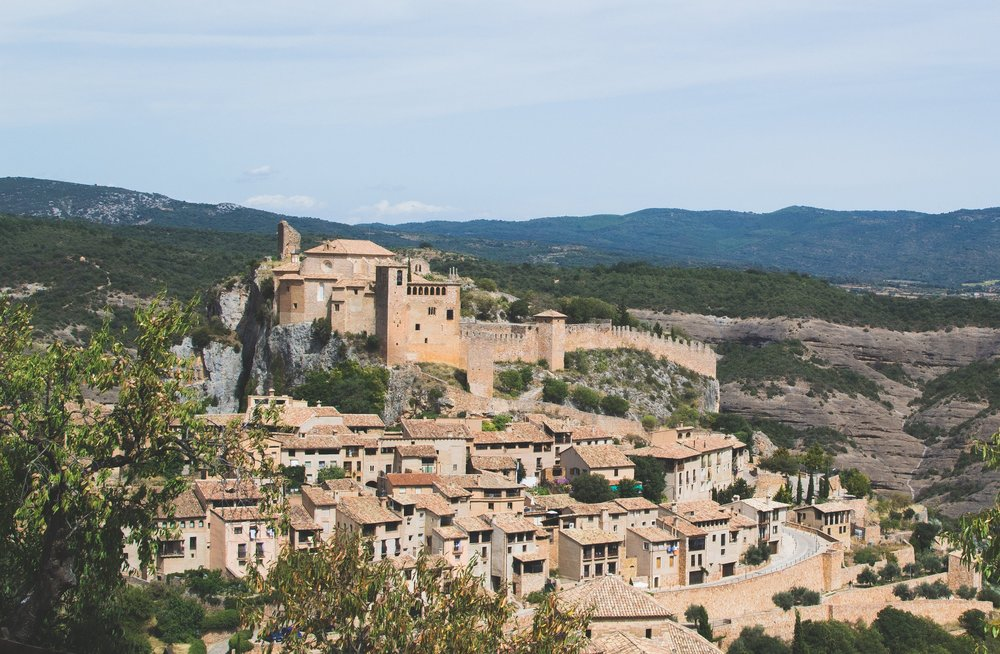 Alquezar, Aragona, Spain