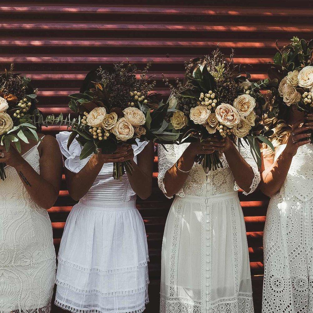 Phillip Island Winery flowers wedding
