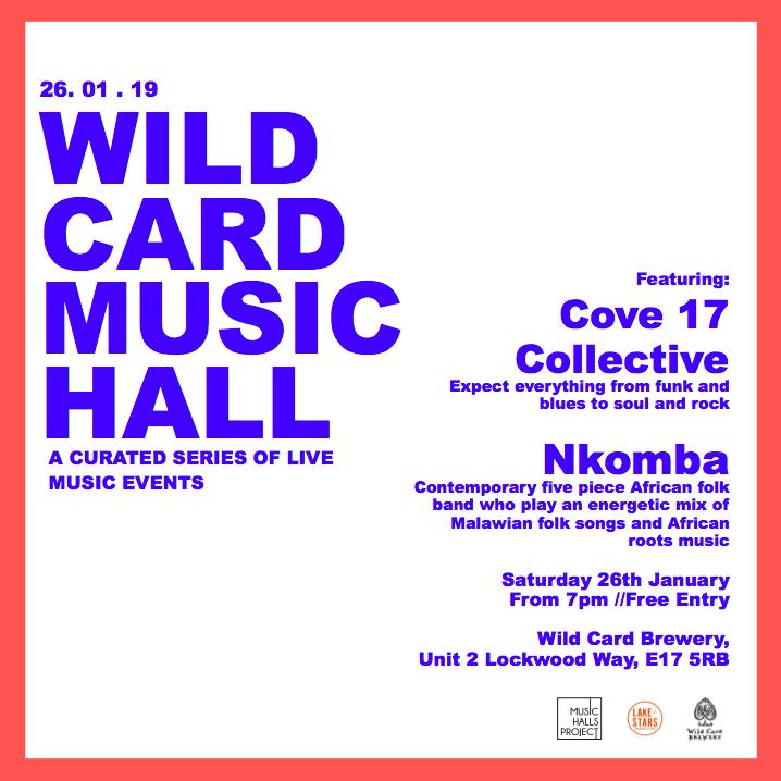 Wild Card Music Hall — Wild Card Brewery