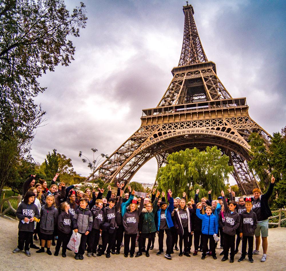 Paris Tour, October 2018