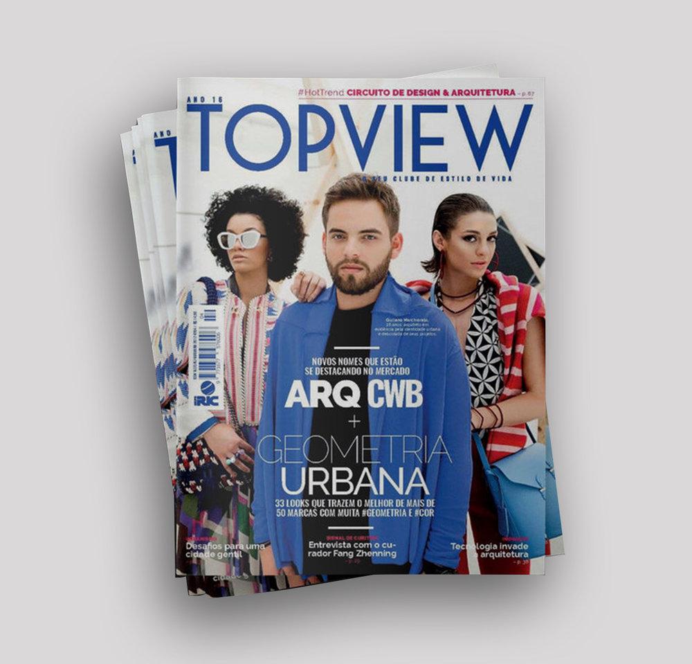 Capa  Revista TOPVIEW |  Link