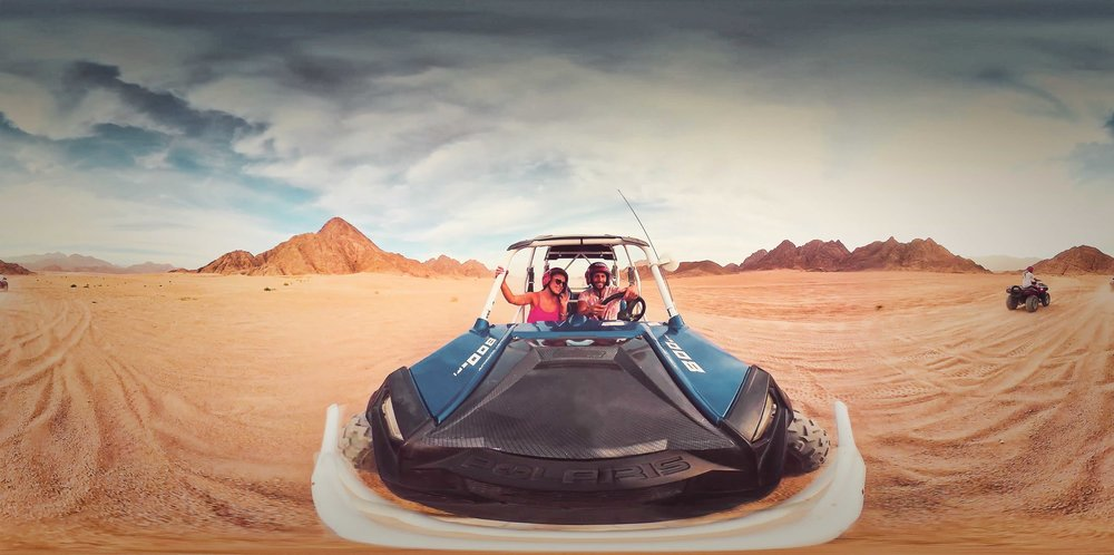 DISCOVERY VR - DUNE BUGGIES & WATER SKIING IN THE SINAI