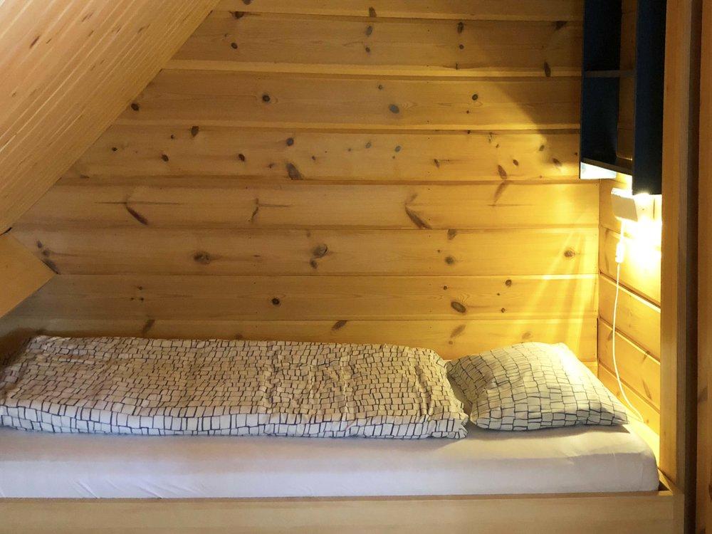 Schlafzimmer im Obergeschoss Norden