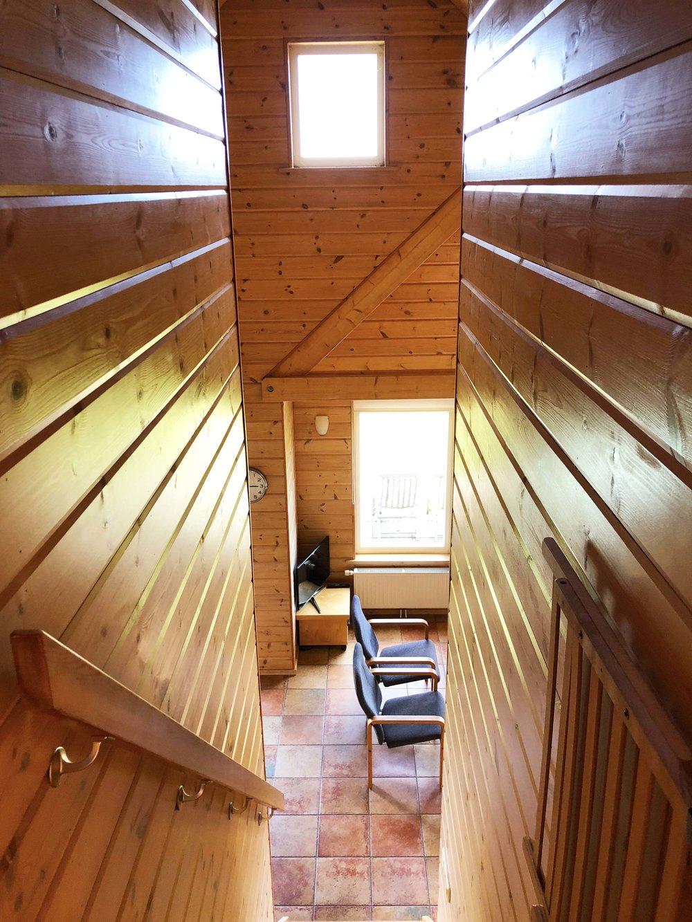 woonkamer vanaf boven