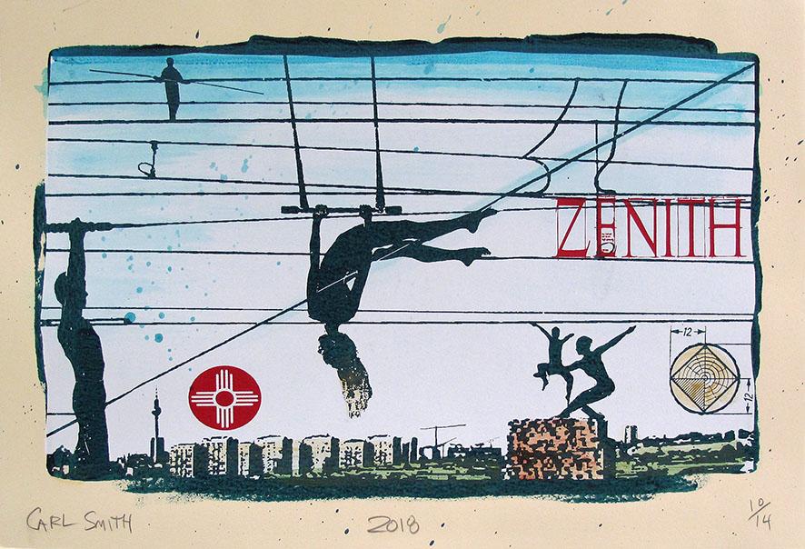 Zenith, 45X65cm, 2018