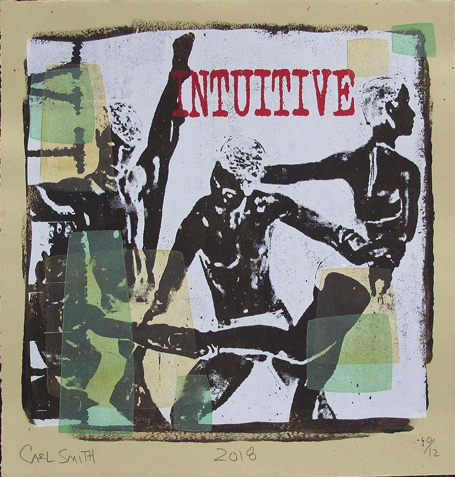 Intuitve, 45x47cm, 2018