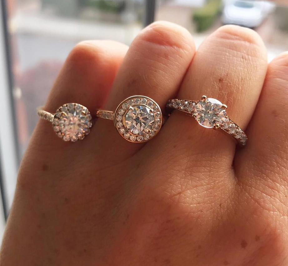 "Do Get to Know the Pros and Cons of Different Diamonds - ""The sparkliest diamond will always be a round diamond shape, but these are priced at a 30% premium to every other shape due to the waste in the process of cutting the diamond into a round shape. Oval, princess and cushion cuts represent great value and look very pretty! You can research all the benefits of each shape on the internet, and we urge every client to spend a bit of time researching their preferred choice. After then, we can provide a diamond with a GIA or HRD certification as they are the most accurate in terms of colour, purity and cut."""