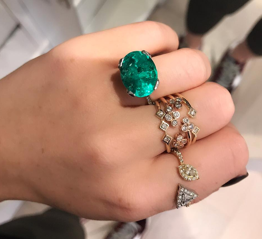 "Don't Rule Out Coloured Stones - ""From time to time we get specific requests for non-diamond engagement rings. These make great alternatives to diamonds in sapphire, ruby, emerald or aquamarine. These can also make into show-stopping cocktail style engagement rings if you really want to make a statement."""