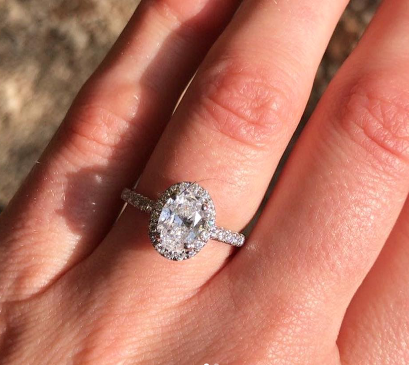 "Do think about setting at the same time as your diamond shape - ""Choosing the setting is relatively easier than choosing the diamond. Once you have a shape there are certain settings which suit different diamonds. We can always show a selection to you in house but we always suggest to look on Instagram for inspiration too."""