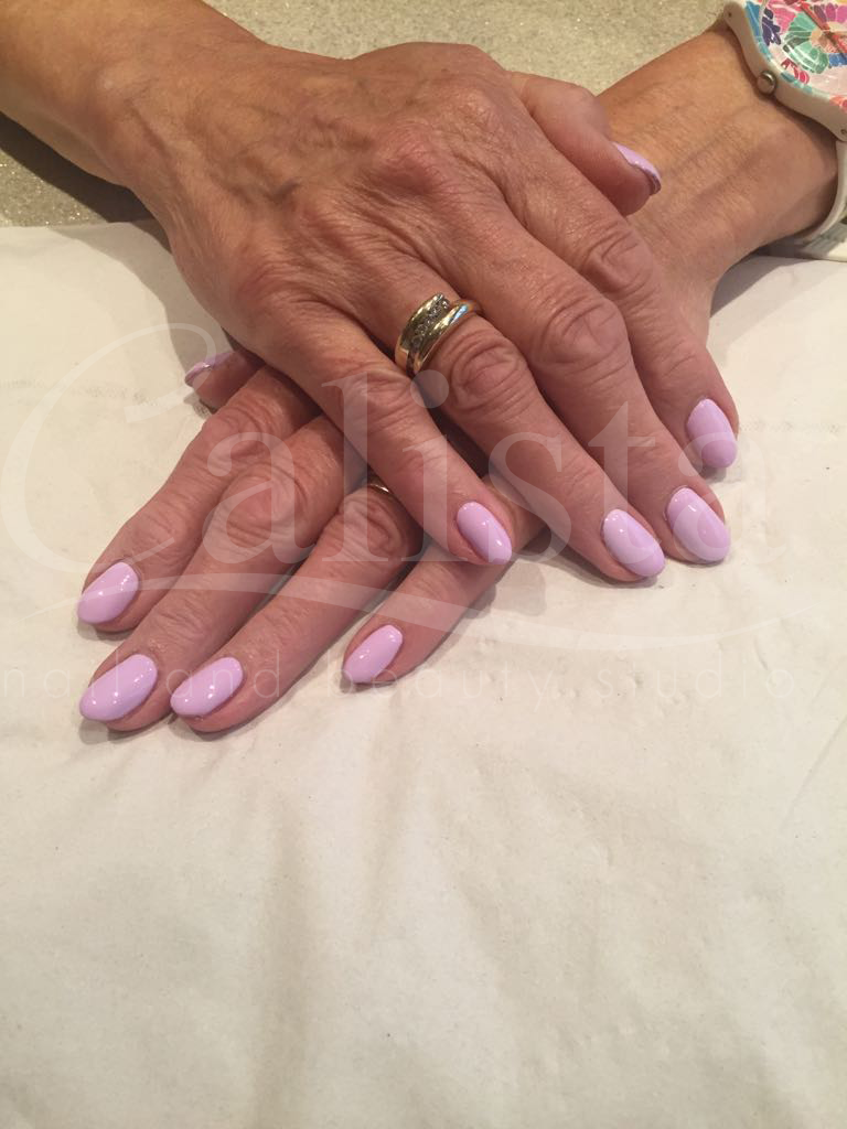 Acrylic Nails with Gel Overlay