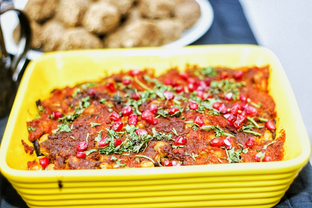 Maghmour: An eggplant dish you never knew existed.A Lebanese dish which is an amazing vegan eggplant and chickpea stew concoction