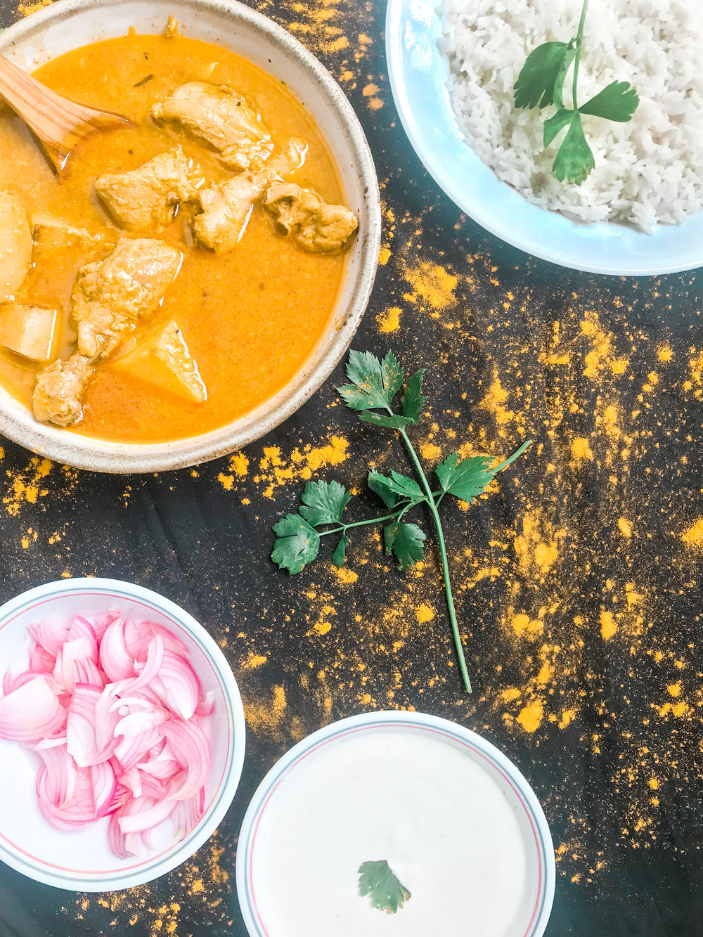 An easy chicken curry full of flavour