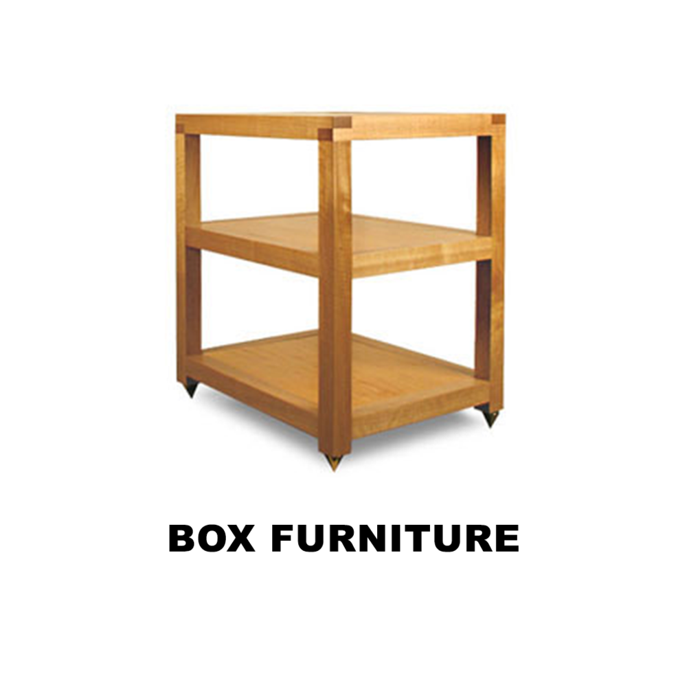 Hardcore, Zero BS Audiophile Furniture In The Classic Style.