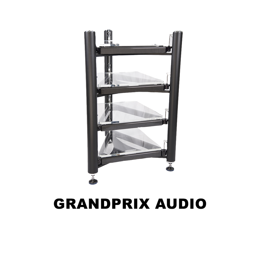 Audiophile racks & turntables using cutting edge technology drawn from aerospace & car racing.