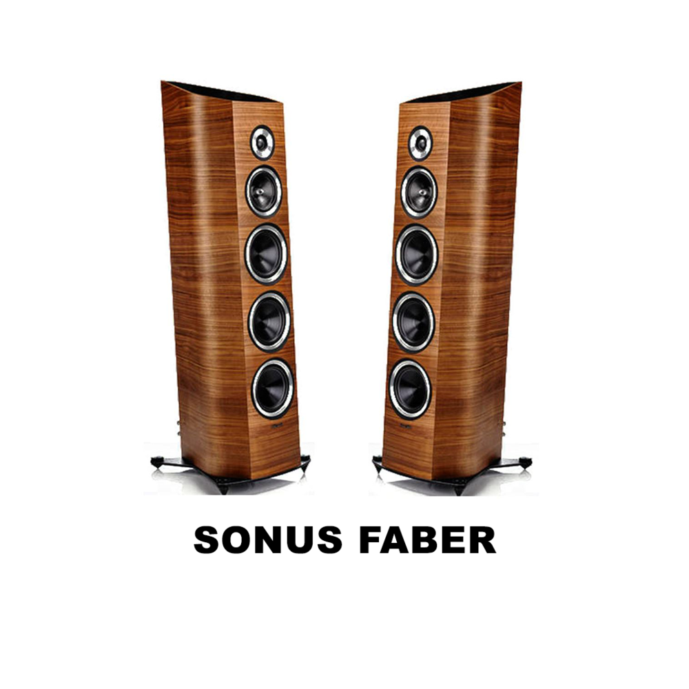 The world's most beautiful speakers, from the Pininfarina of audio.