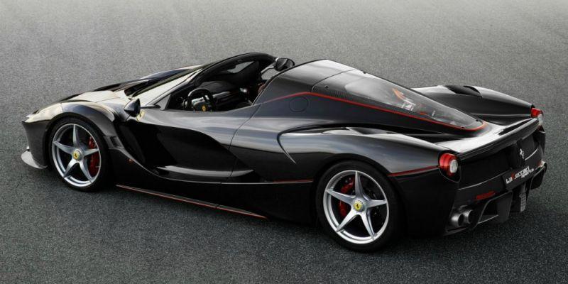 Ferrari LaFerrari – Italy's most famous hypercar.