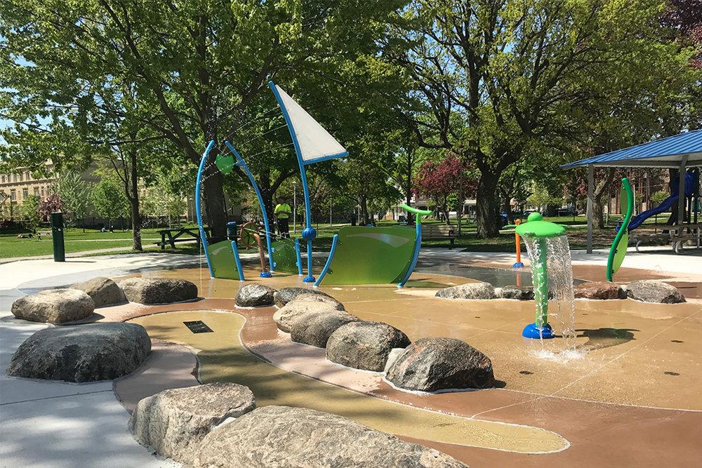 Alexandra Park Splash Pad