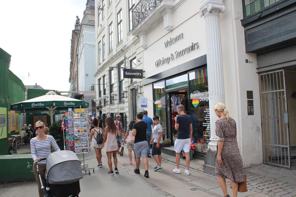 Our shop on Kongens Nytorv