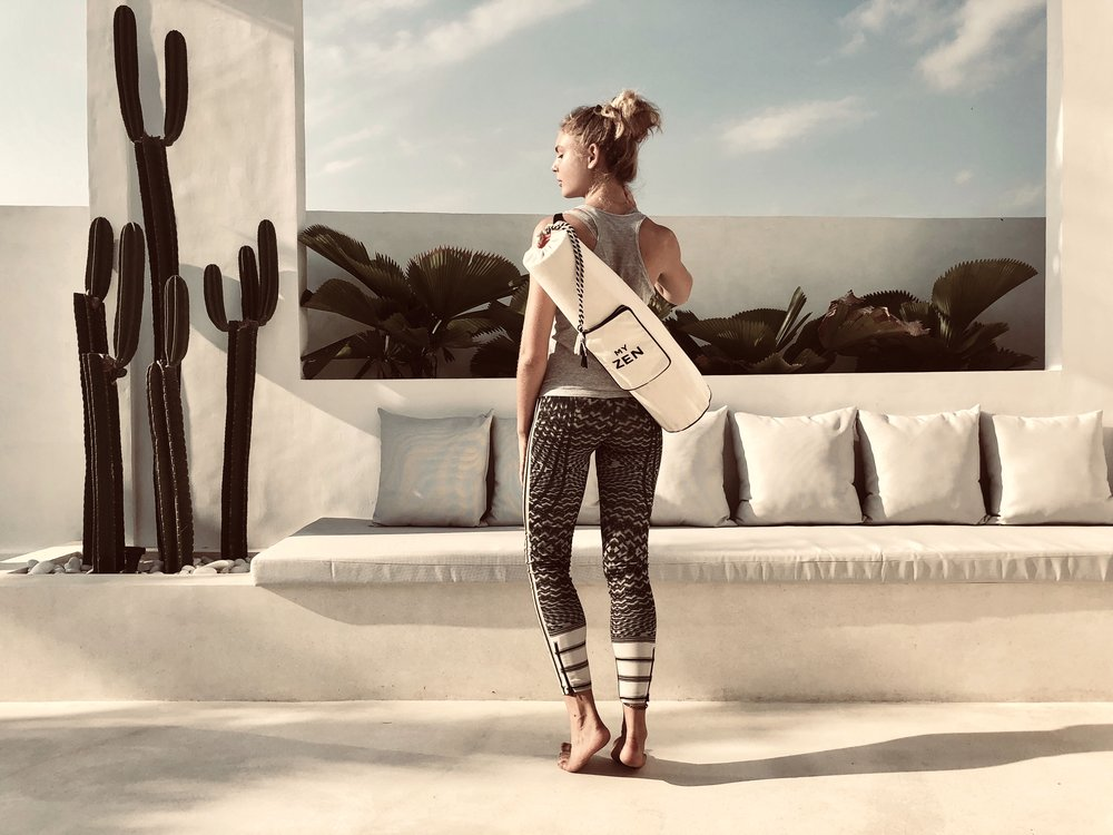 You asked for it and we made it: A yoga mat bag. -