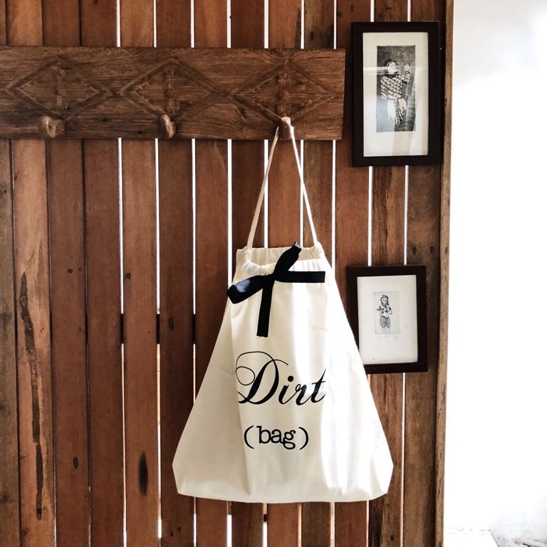 Keep it clean - Bringing a laundry bag will help you keeping your hotel room tidy and when its time to return home it's always nice to not mix the dirty clothes with the clean. Once back home unpacking will be easy, just dump the the stuff from our Dirt Bag into your laundry basket!Price $15.00