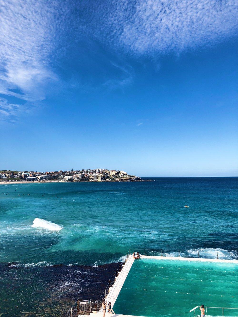 - Bondi to Coogee coastal walk in Sydney
