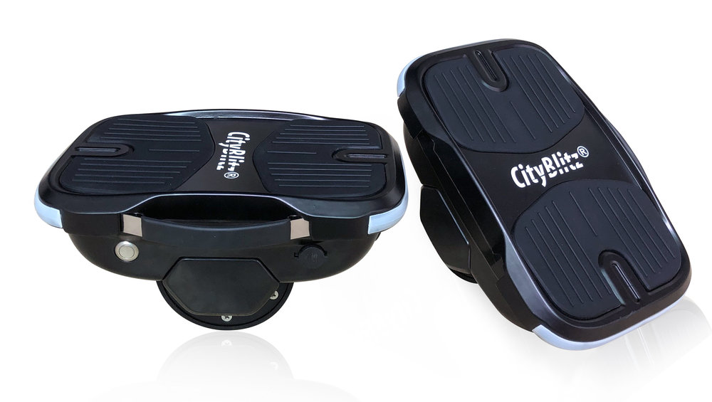 CityBlitz® BSHOES - Model Number: CB0403,3 kg EachMax 10 km/hLED Lights Front & BackCarrying HandleAutomatic Stabilisation