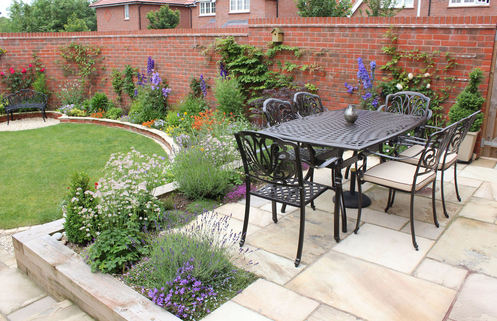 New-build Garden Transformation — fresh green garden design