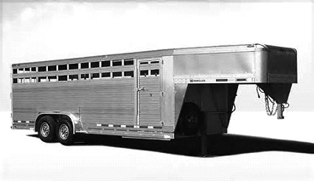 Stock trailer alignment repair at Bear Frame & Alignment Services, Inc. Kearney, NE