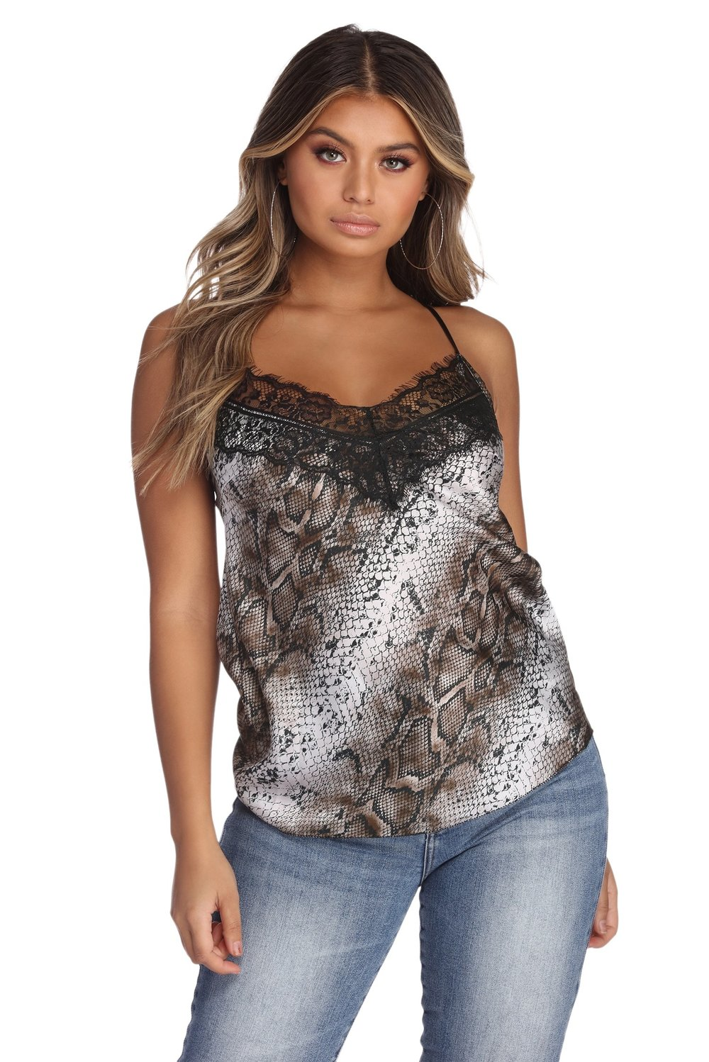 Windsor also has this snake skin & lace cami I am drooling over at the moment!
