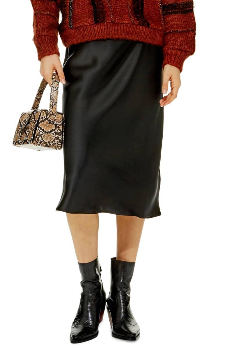 Midi Skirt Topshop