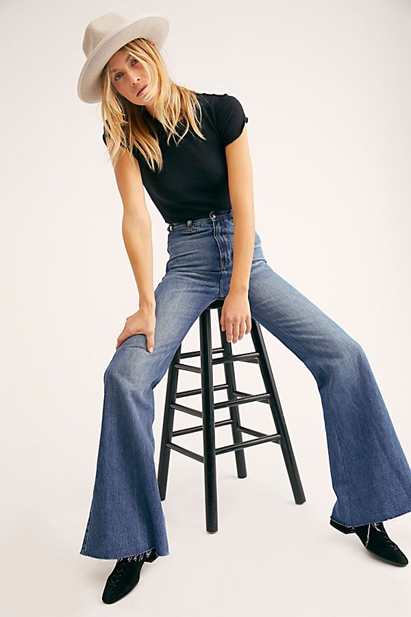 Bell Bottom Jeans Free People