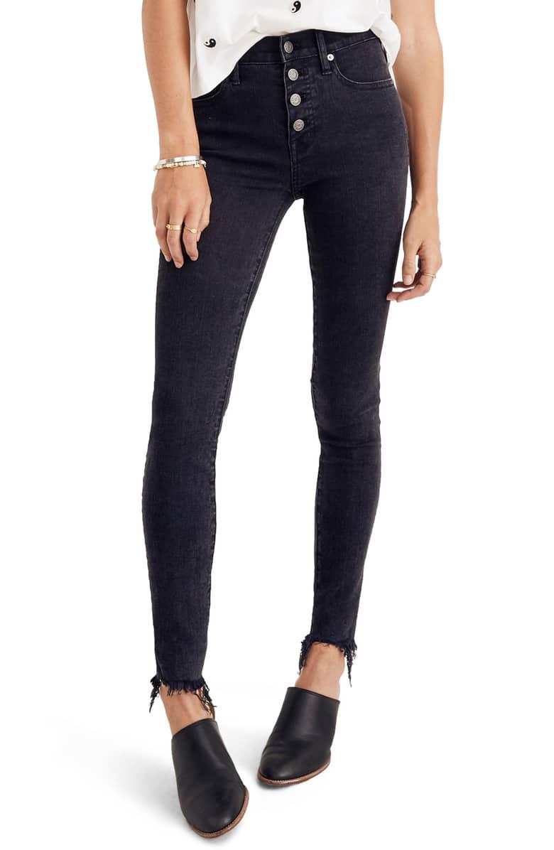 Madewell Jeans High Waisted