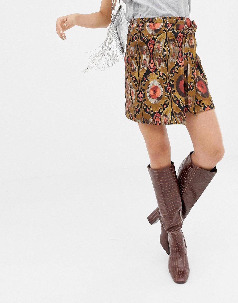MANGO wrap Skirt ASOS