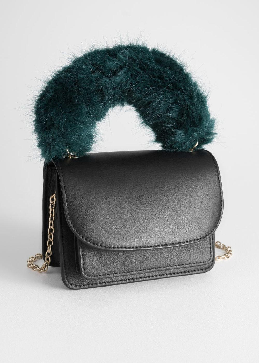 Faux Fur bag - & other stories