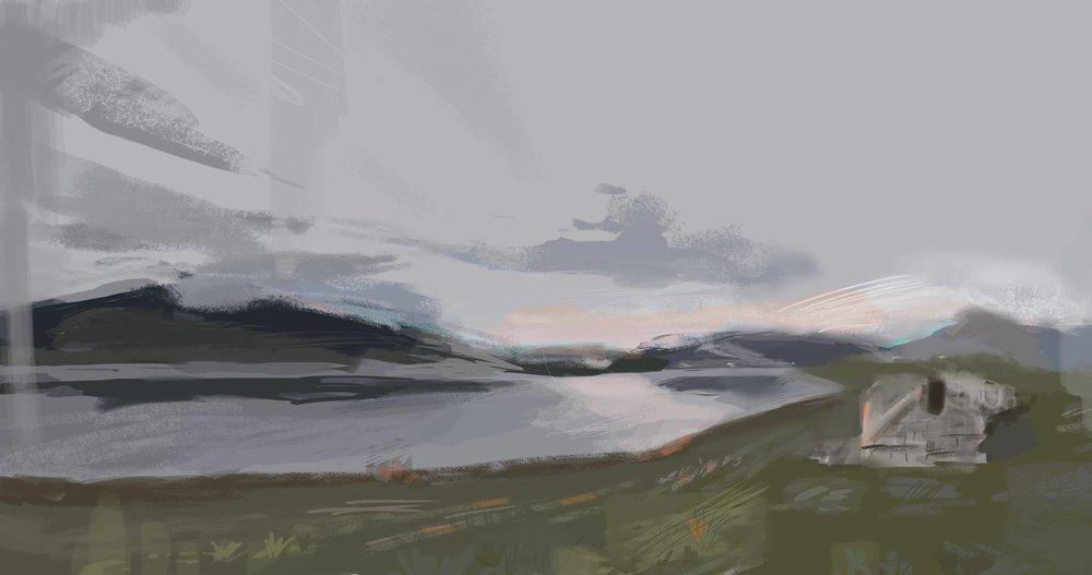 Sierras, Virtual Plein Air #05