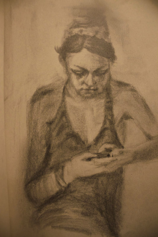 Model Study Cell Phone