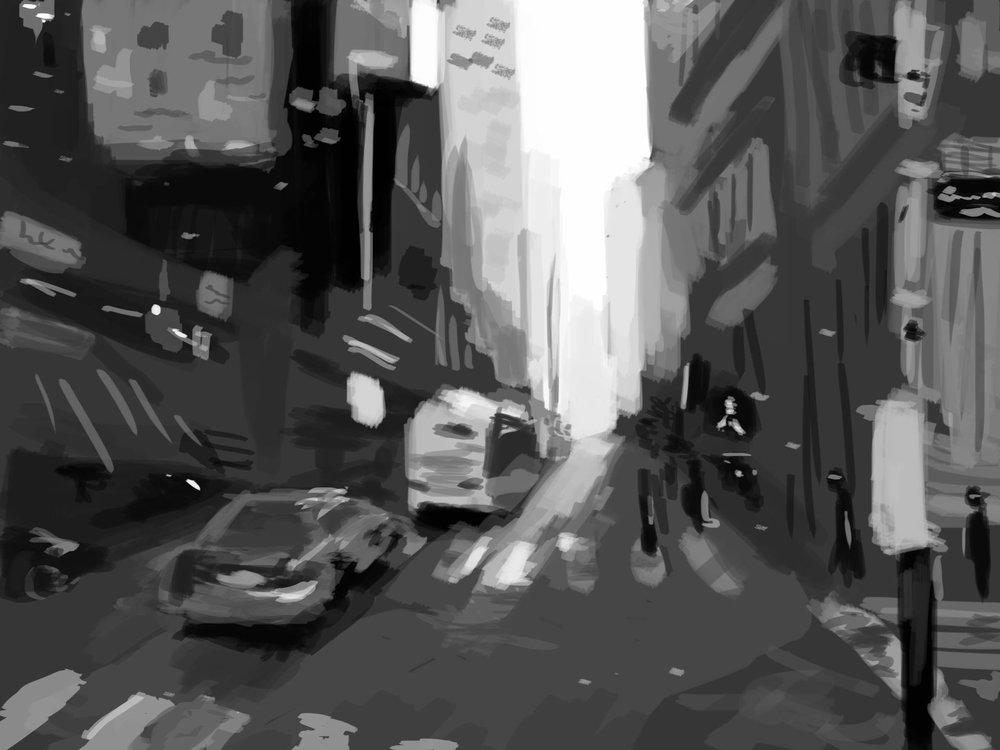 May 25, 2016 Street Study Digital Paint.jpg