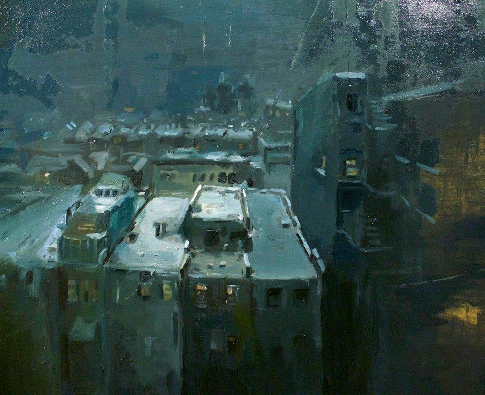 Cityscape study #27