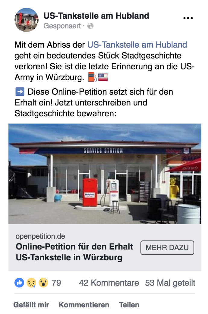 Online-Petition US-Tankstelle Facebook-Werbeanzeige.png