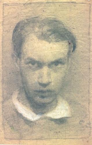Carl Schmitt, Self Portrait