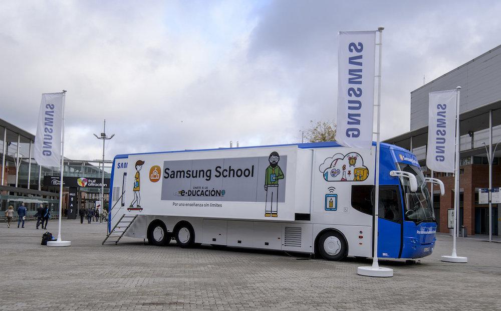 Samsung School exterior bus.jpg
