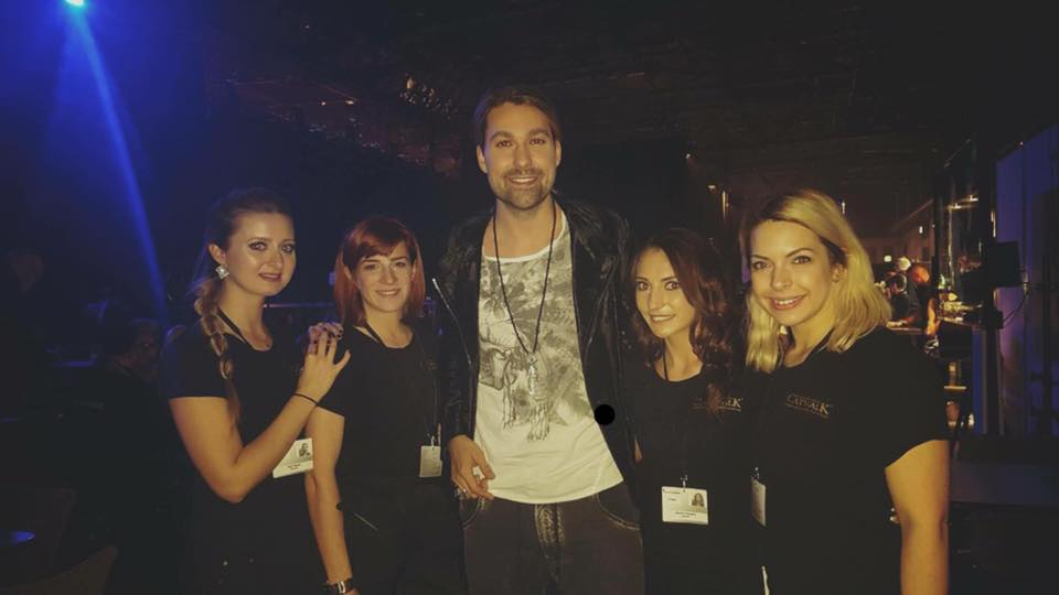 With David Garrett