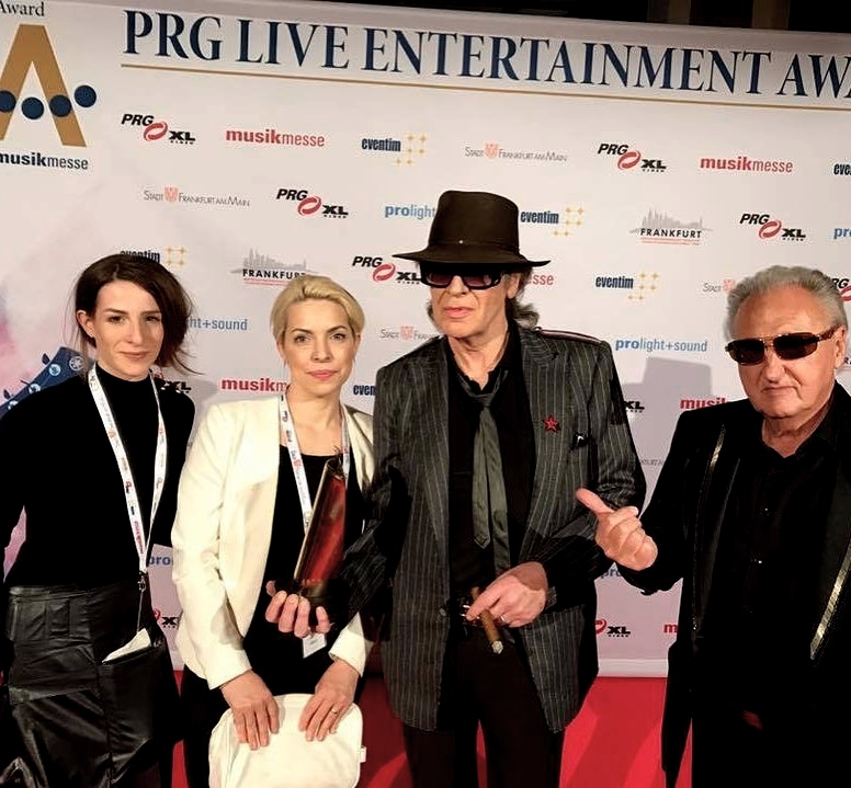 With Udo Lindenberger