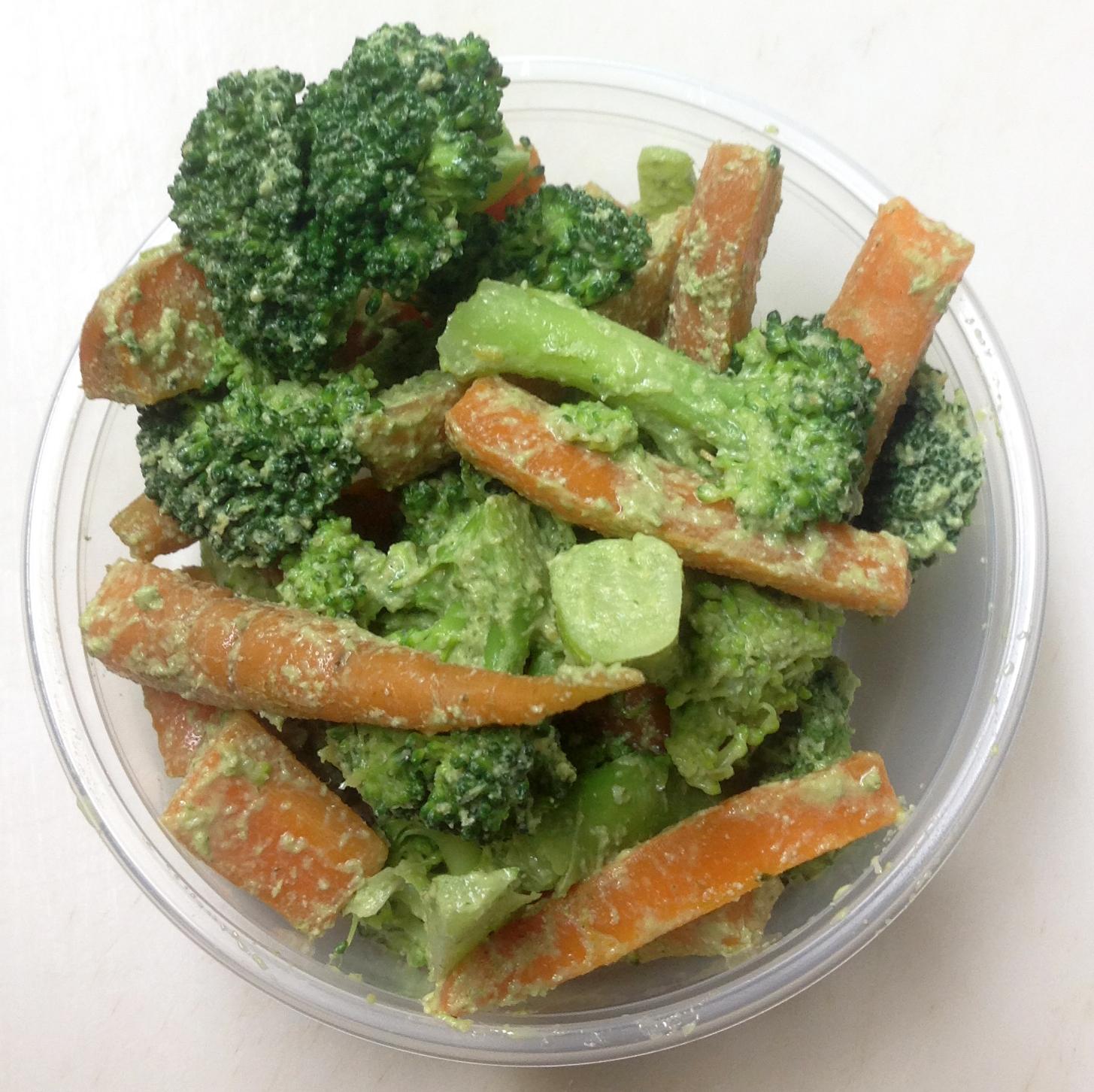broccoli and carrot